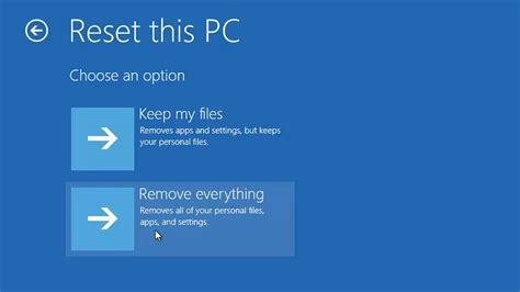 resetting keyboard keys windows 8 windows 10 how to reset windows to factory settings