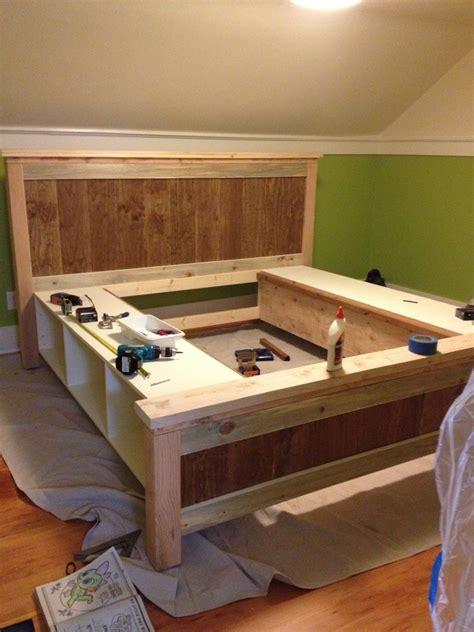 diy farmhouse bed   ana white plans