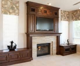 Custom fireplace and tv surround stone creek furniture