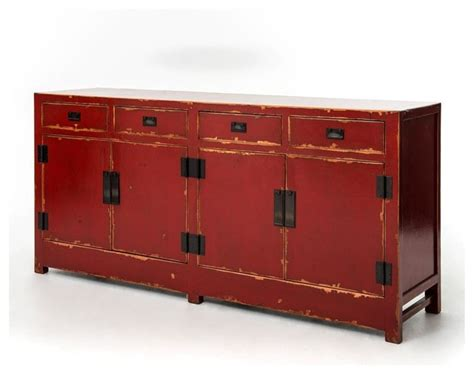 asian sideboards and buffets shanxi sideboard 4 door 4 drawer asian buffets and sideboards by masins furniture