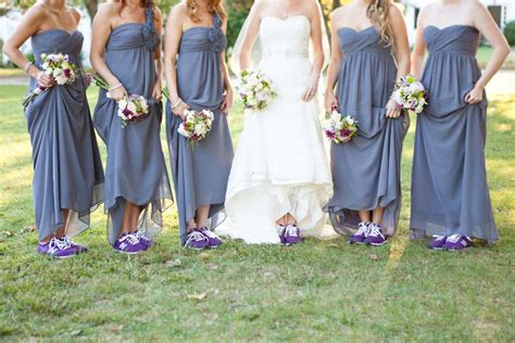 Wedding Sneakers by Proof That Sneakers Can Complete A Wedding Ensemble