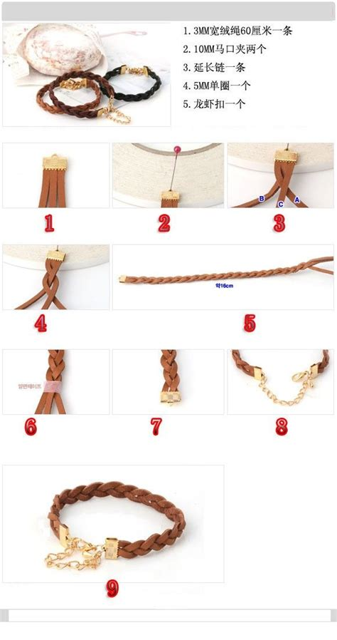 Handmade Accessories Tutorial - 25 best ideas about leather cord bracelets on