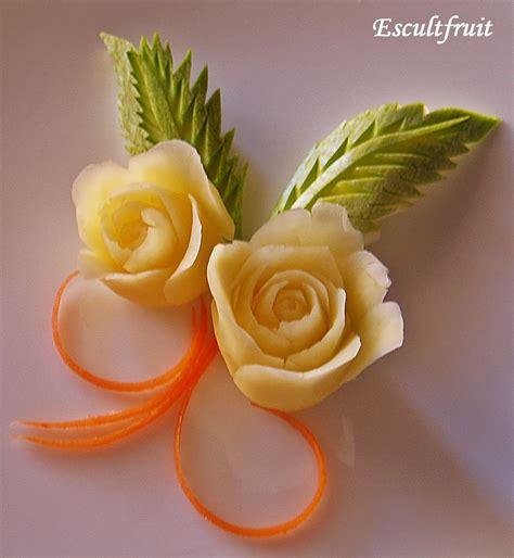 como decorar una mesa con frutas y verduras tallado de frutas y verduras decoraci 243 n de platillos