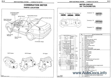 automotive repair manual 1994 toyota corolla spare parts catalogs toyota corolla repair manual order download