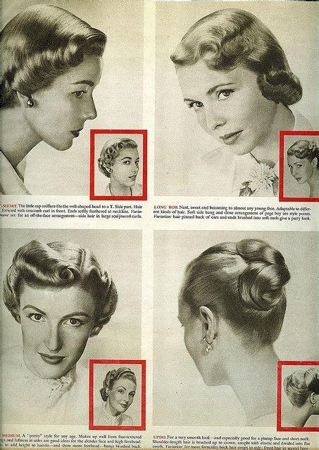 50iger Jahre Style by 1950 Hair Styles 50er 50er Jahre Und Frisur