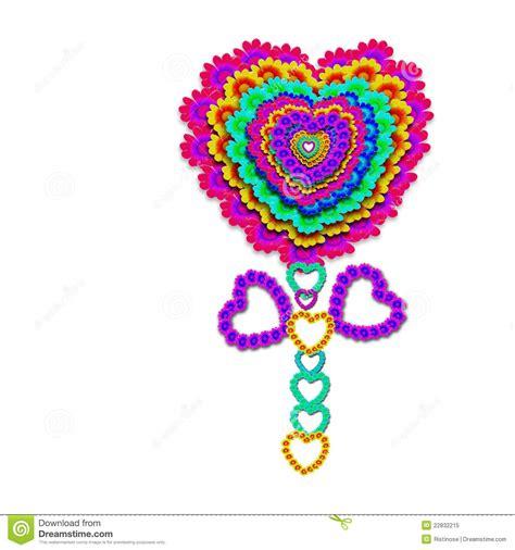 imagenes de corazones alegres corazones alegres de la flor aislados en blanco stock de