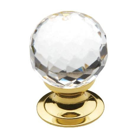 polished brass cabinet knobs baldwin 4318 cabinet knob 1 19 quot polished brass thebuilderssupply