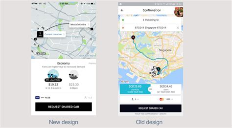 design app like uber the new uber app three notable ux changes uxarmy medium
