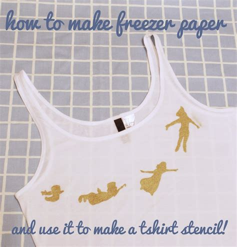 How To Make Stencil Paper - how to make freezer paper to create fabric stencils miss