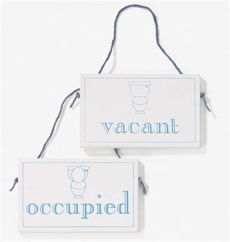 Kitchen Ideas Diy vacant occupied wooden hanging sign amazon co uk