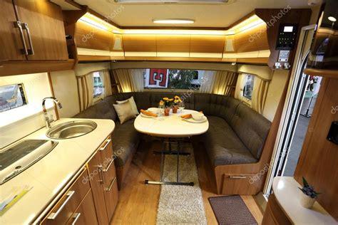 interior   modern camper van stock editorial photo