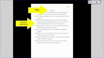 Formatting Research Paper Mla Tutorial 3 Works Cited Page Formatting Youtube