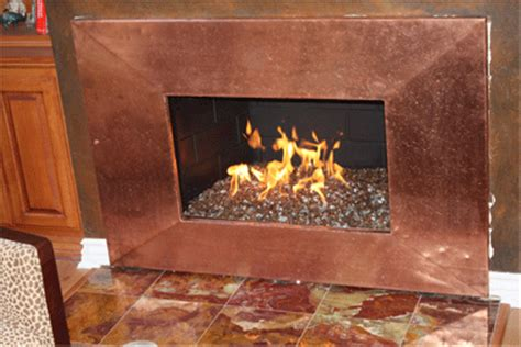 Rust Fireplace by Rust Copper Fireplace Surround Sac Fireplace Gas