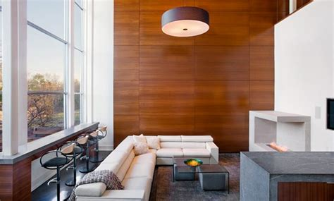 wood paneling ideas modern wooden panel walls in 15 living room designs home design