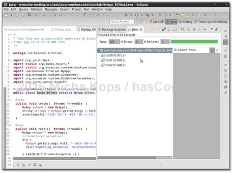 test java plugin hascode 187 archive 187 generating junit tests with