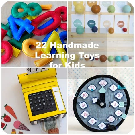 22 handmade learning toys for