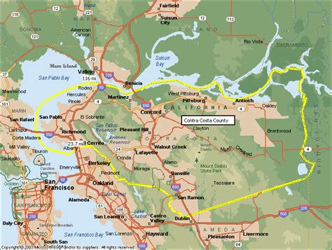 map of contra costa county ca relocation breakthroughs cities we cover in the san