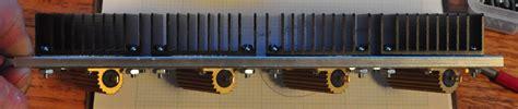 power resistor with heat sink dummy speaker load cascade