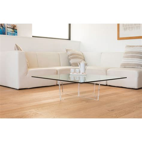 Table Basse Carrée En Verre by Table Basse Cristal Carr 233 E