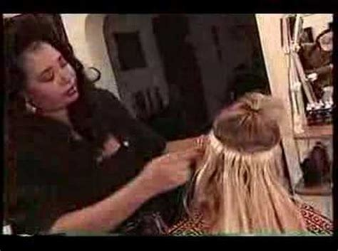 how to do the interlocking hair weaving technique ehow the best hair extension with lisha coleman youtube