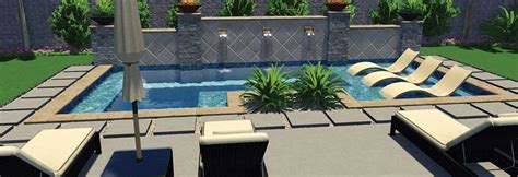 online pool design choose your swimming pool features with 3d pool designs