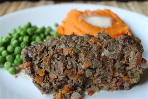 Meatloaf Kitchen by Meatloaf With Veggies The Unrefined Kitchen Paleo