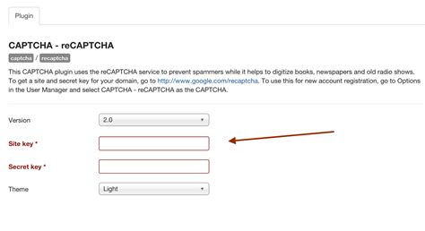 recaptcha themes list how to enable recaptcha in joomla joomlabamboo blog