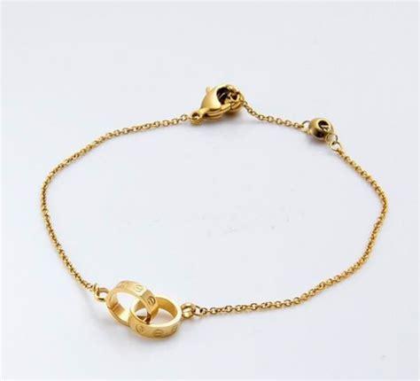 18 Carat Gold Bracelet From Organza by Cartier Bracelet Pink Gold Cartier Bracelet