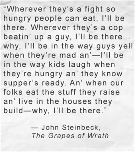themes in grapes of wrath with quotes grapes of wrath quote john steinbeck well said pinterest