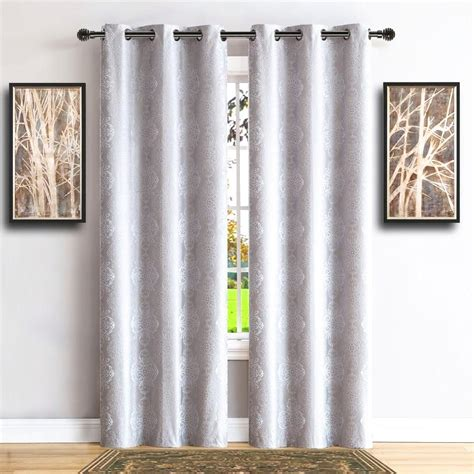 white insulated curtains warm home designs 100 blackout white insulated curtains