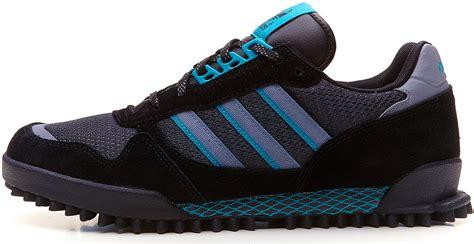 Adidas Marathon 39 44 adidas originals s marathon tr grey blue retro running