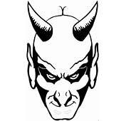 Furchteinfloessender Teufel Ausmalbild &amp Malvorlage Religion