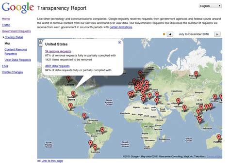 google wallpaper removal government removal requests google transparency report