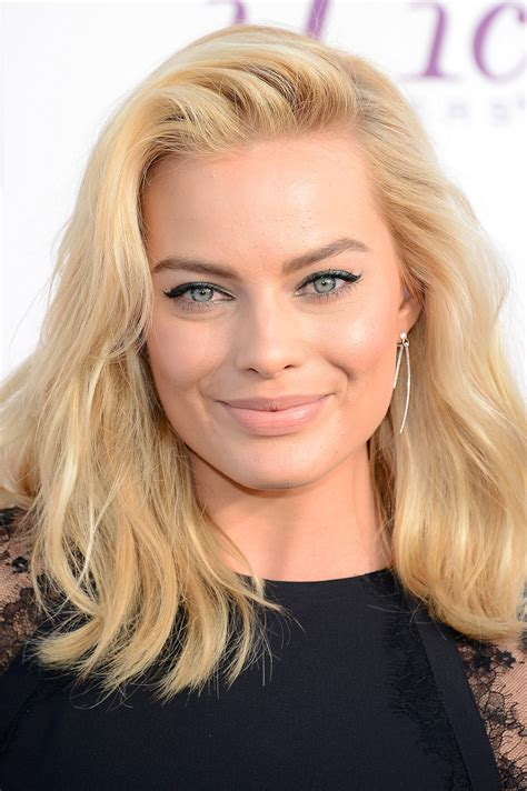beauty interview with australian actress margot robbie