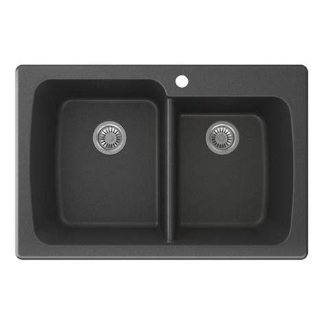 Menards Sinks Kitchen Swan Granite 33 Quot W X 22 Quot D Bowl Kitchen Sink At Menards 174