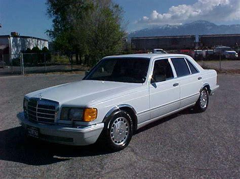 mercedes 300sel 1990 1990 mercedes 300 sel 4dr sedan 3 0l for sale