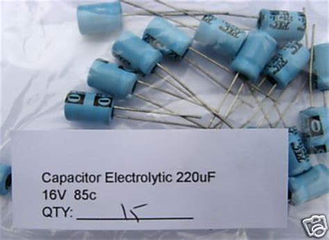 what is a mf capacitor 15pcs 220uf electrolytic capacitor 16v 220 mf 100mf