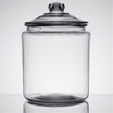 1 Gallon With Lid by Anchor Hocking 69372mn 2 Gallon Glass Jar With Lid