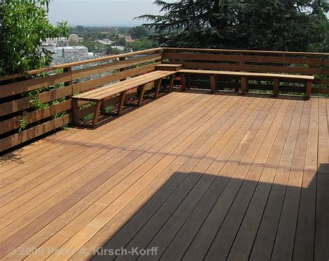 bench railing for deck decks benches and railings on pinterest