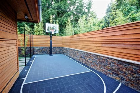 Backyard Net by Basketball Hoops At Home Things You Should Remember