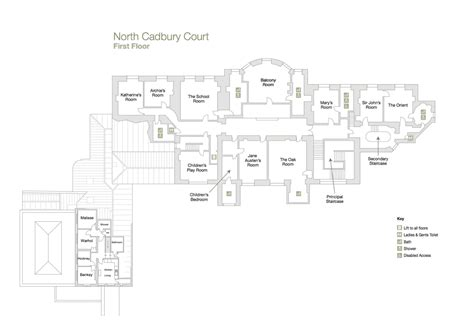 courtroom floor plan rooms in the house north cadbury court