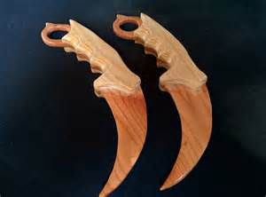 after seeing u saippuas s wooden karambit i decided to