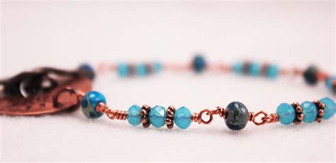 how to make a beaded bracelet with wire wire wrap bead bracelet how to make a wire wrapped bead