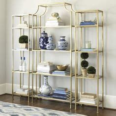 Etagere Zink by Zoe Chicco Amazing Living Space Features A Pair Of Gold