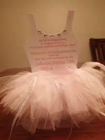 ballerina invitations 50