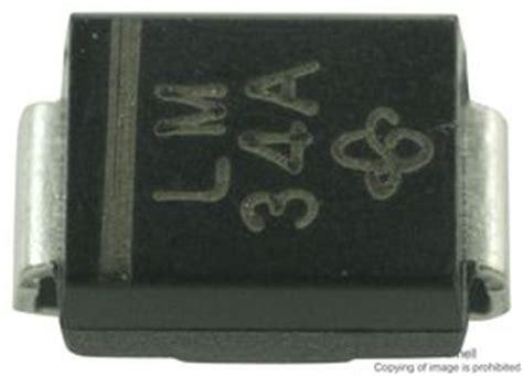 tvs diode markings smbj15a e3 52 vishay diode tvs tvs s 233 rie smbj unidirectionelle 15 v 24 4 v do 214aa 2
