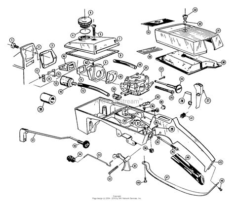 poulan chainsaw carburetor diagram poulan 306a gas chain saw parts diagram for carburetor