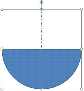 visio semicircle creating semi circles in powerpoint 2010 for windows