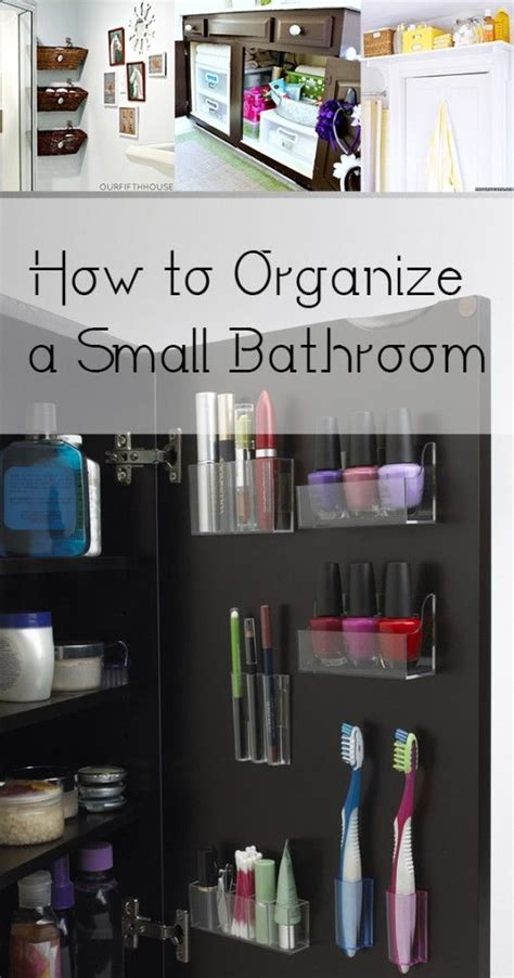 how to organize bathroom 578 best small house hacks images on pinterest