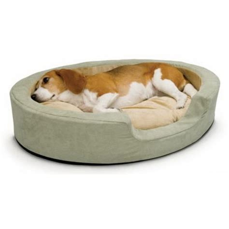 k h dog beds k h pet products k h thermo snuggly sleeper sage heated